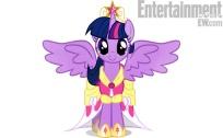Twilight Sparkle princesse avec une paire d'ailes !