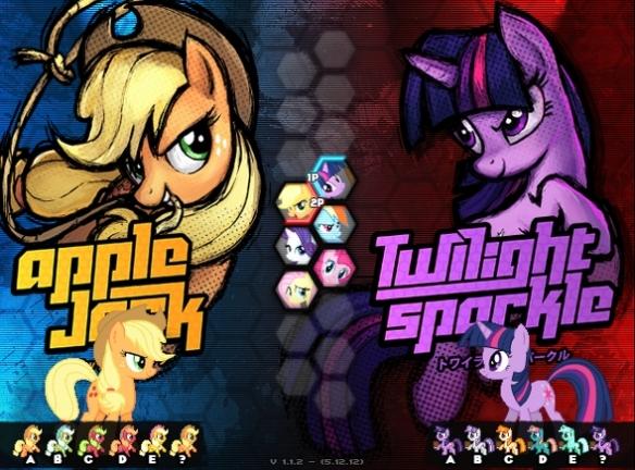 Apple Jack vs Twilight Sparke, qui va gagner ?