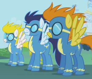 Aaaah les Wonderbolts, mon rêve !