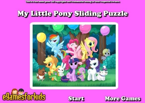 Un puzzle dans l'univers My Little Pony !