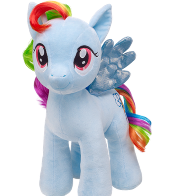 Rainbow Dash au naturel.