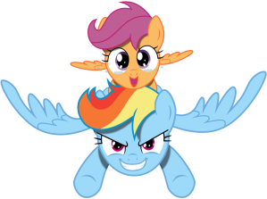 vector_rainbow_dash_and_scootaloo_happy_by_kyss_s_by_kysss90-d6ho3oq