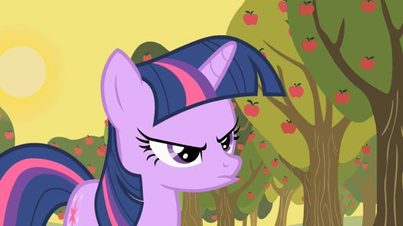 Twilight n'est pas contente du tout. On peut la comprendre.