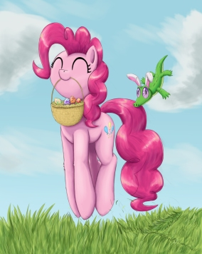 pinkies_easter_egg_hunt_by_otakuap-d5z7igp