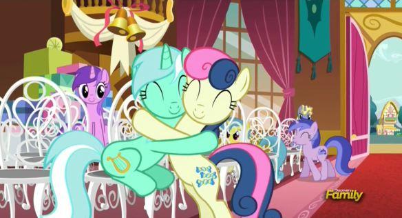 L'amitié et la magie qui nous unies, la plus grande morale de la série.