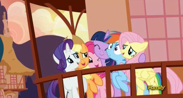 Je vous adore les filles ! Dixit Twilight Sparkle