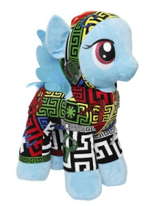 Versace-Rainbow-Dash-Plush
