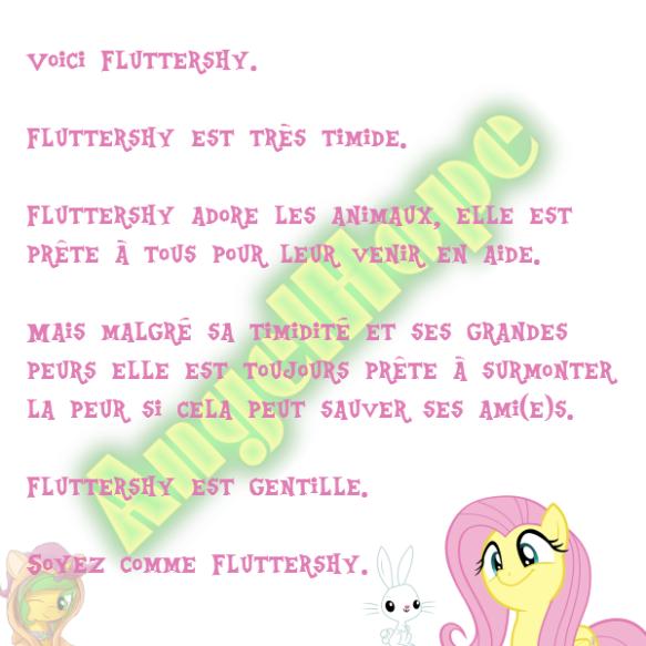 Voici Fluttershy