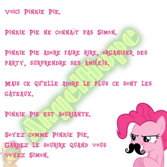 Voici Pinkie Pie