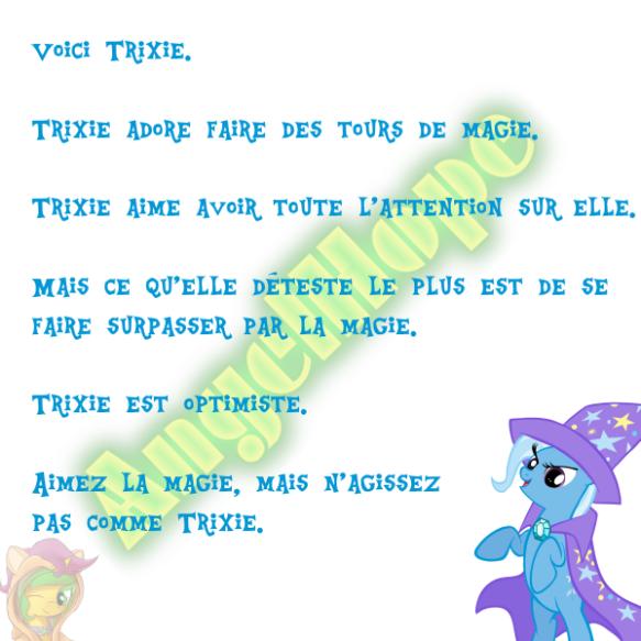 Voici Trixie