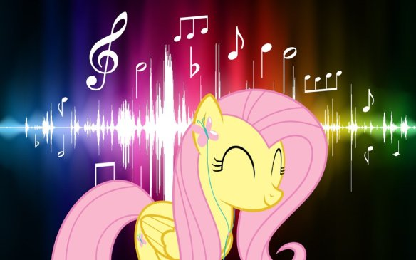fluttershy_listening_music_wallpaper_by_elishadraw-d6ufl22