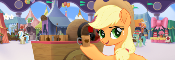 1499844__safe_screencap_applejack_my+little+pony-colon-+the+movie_spoiler-colon-my+little+pony+movie_apple+cider_cider_pony