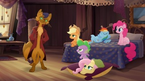 MLP_The_Movie_Multikino_-_Main_four_and_Spike_in_Capper's_room